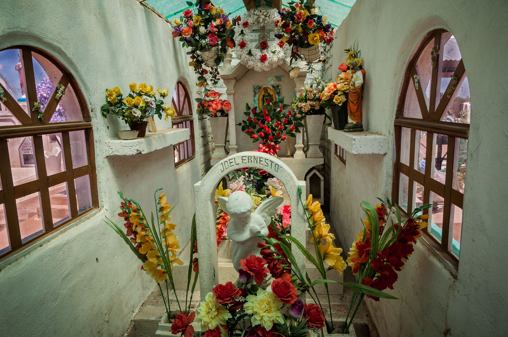 Inside the Graveyard Mausoleums of Mexico